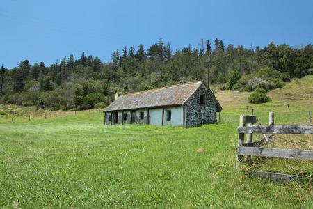 disused: Old disused farmhouse Editorial