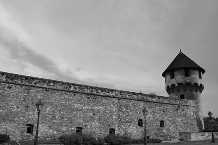 Buda-kasteeltoren Hongarije