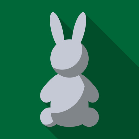 clack: Toy for baby. Babys rabbit. Inventory for the baby. It is easy to edit. Vector illustration. Illustration