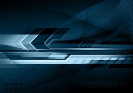 Abstract futuristic technology background photo