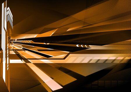 massive: Abstract futuristic technology background Stock Photo