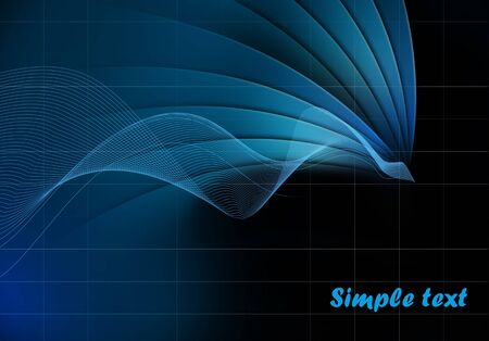 Abstract futuristic modern background  photo