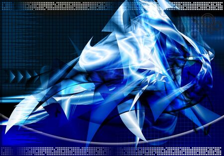 Abstract technology data background Stock Photo - 7285217