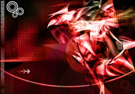 Abstract technology data background photo