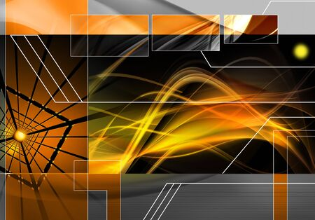 advanced computing: Abstract technology data background Stock Photo