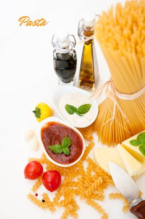 sause: Italian Pasta with spices