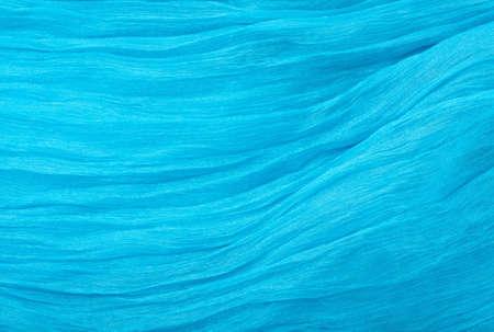 blue textile material photo