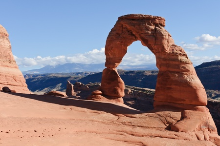 Utahs famous Delicate Arch