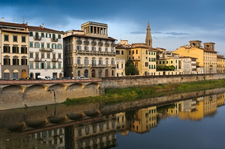 arno: Arno river in Florence (Firenze), Tuscany