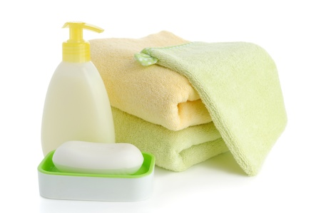 accessory for spa or sauna over white background Zdjęcie Seryjne