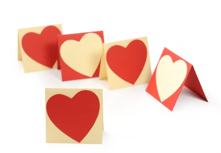 Holiday Card. Heart for Valentines day. Stock Photo - 17299976