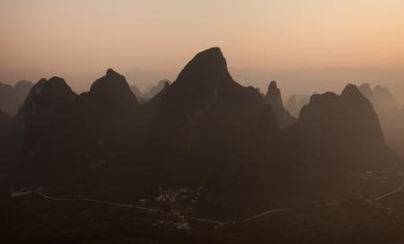 Xianggong Hill near Xinping town in Yangshuo County
