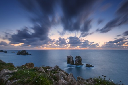 the rocky coasts of northern Spain, Los Urros