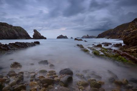 the rocky coasts of northern Spain, Los Urros