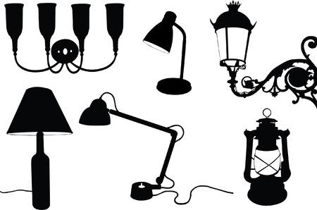 irradiate: colecci�n de l�mparas de silueta