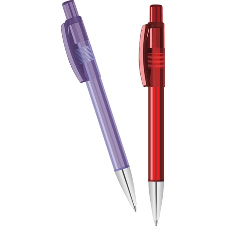 two pens Vector
