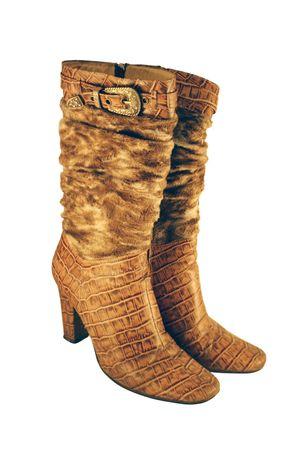 fetishes: Boots female Stock Photo