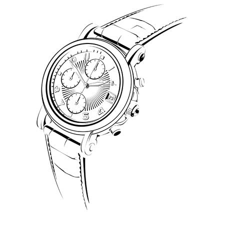 マニュアル: 手動腕時計