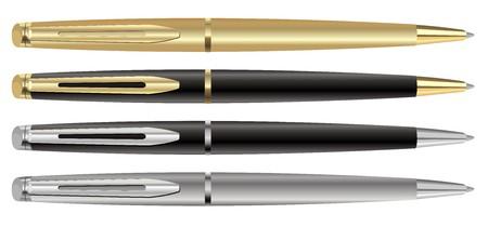 ballpoint pen: 4 pen