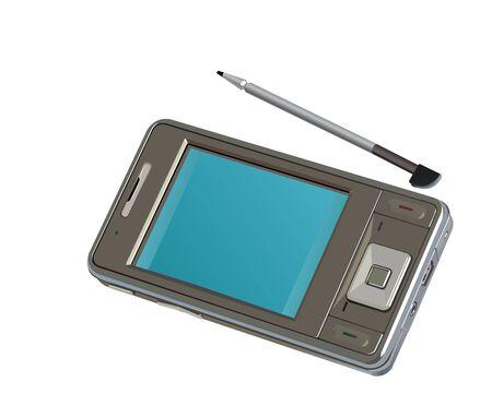 Alta tecnologia PDA mobile phone
