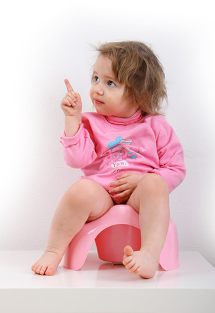 potty: Potty Training Stock Photo