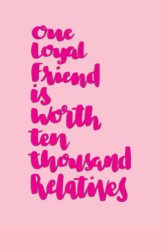 One Loyal Friend Is Worth Than Thousand Relatives. Buddha Quote