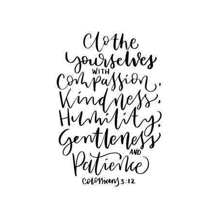 Scripture Hand Lettered. Proverbs Bible Quote. A sweet Friendship Refreshes The Soul Hand Lettering Quote On White Background. Modern Calligraphy. Handwritten Inspirational Motivational Quote. Illusztráció