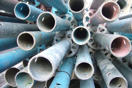 Pipes shot from their end