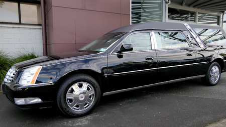 hearse for funeral