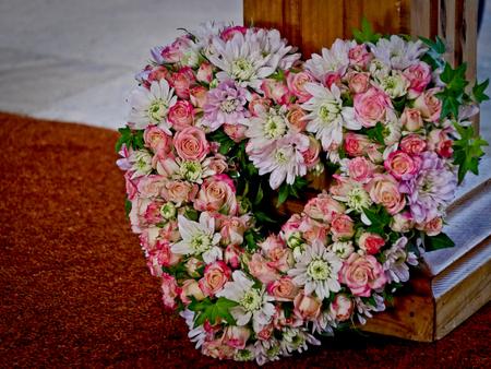 flower for funeral Standard-Bild