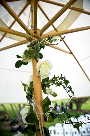 shot of beautiful wedding flower or bouquet