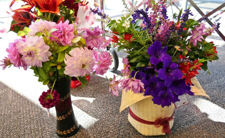 beautiful flower bouquet, petals or arrangement