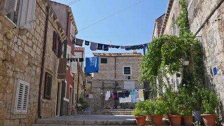 Croatia, Ancient buildings at Zadar and Dubrovnik old town