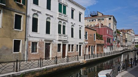 Italy, Venice ancient building and infrastructure