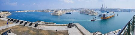 Street photography of the beautiful island of Malta Stock Photo