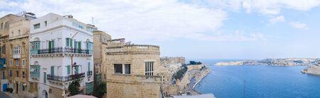 Street photography of the beautiful island of Malta 스톡 콘텐츠