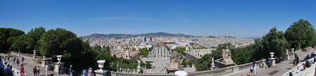 Spain, Barcelona historical infrastructure Reklamní fotografie