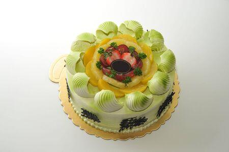 Shot of wedding & birthday cake and decoration
