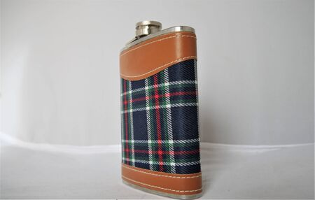 Stainless steel hip flask for portable consumption of alcohol