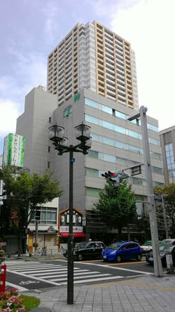 Nagoya, Japan, 1st of Jan 2020, Nagoya Naka ward is home to museums and pachinko parlors and Sakae entertainment district
