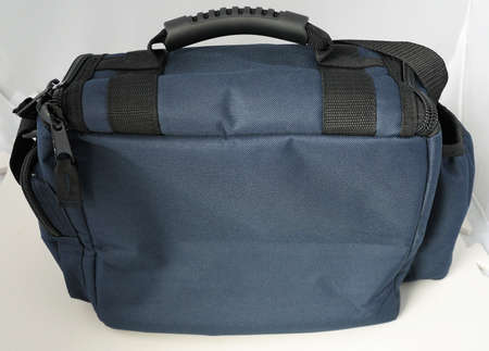 sporty cross sling hand carry adventure overnight bag Stockfoto