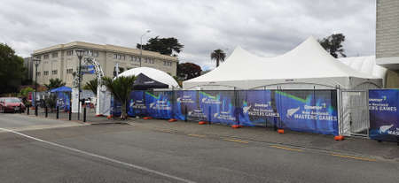 Whanganui, New Zealand, 6th of Feb 2021, New Zealand world master games opening ceremony and venues Editorial