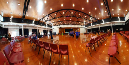 Whanganui, New Zealand, 6th of Feb 2021, New Zealand world master games ball room dancing competitions and venue