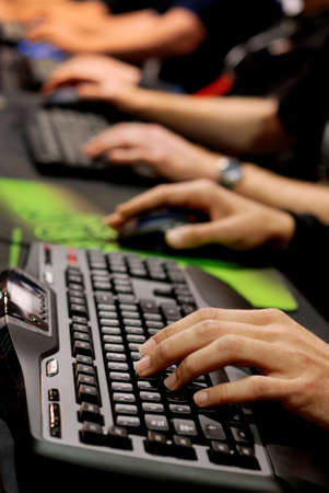 gaming keyboard for cyber games