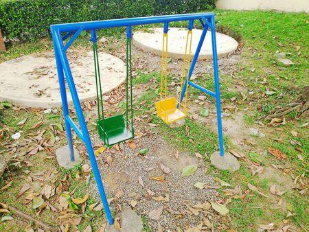 Outdoor infantile games Reklamní fotografie