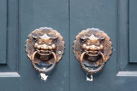 Animal shape door handle Stock Photo - 13492320