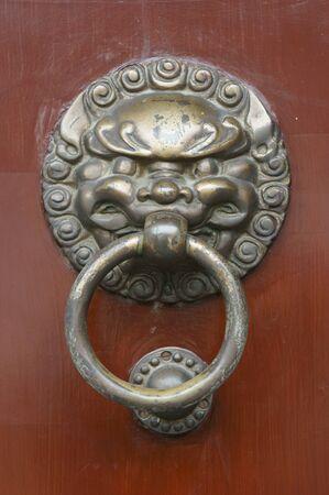 Animal shape door handle Stock Photo - 13492272