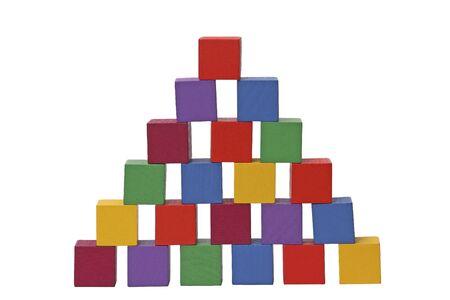 Wooden puzzle photo