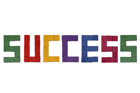 Success topic wooden puzzle