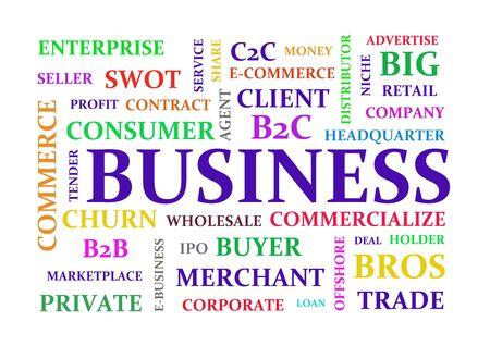 Business keywords diagram